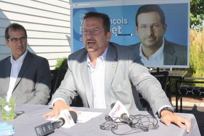 S'il est élu dans Johnson le 4 septembre, Yves-François Blanchet entend faire... (Yanick Poisson)