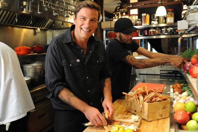 Le chef Chuck Hughes... (Photo: fournie par Food Network Canada)