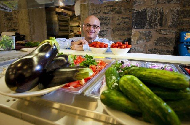 McGill  a servi dans ses cafétérias, l'an... (Photo: André Pichette, La Presse)