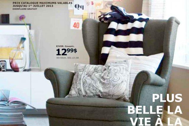 catalogue ikea 2013 nouveau souffle alexandra perron mobilier. Black Bedroom Furniture Sets. Home Design Ideas
