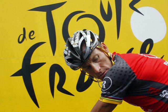 Lance Armstrong avait jusqu'ici fortement nié toute faute... (Photo AP)
