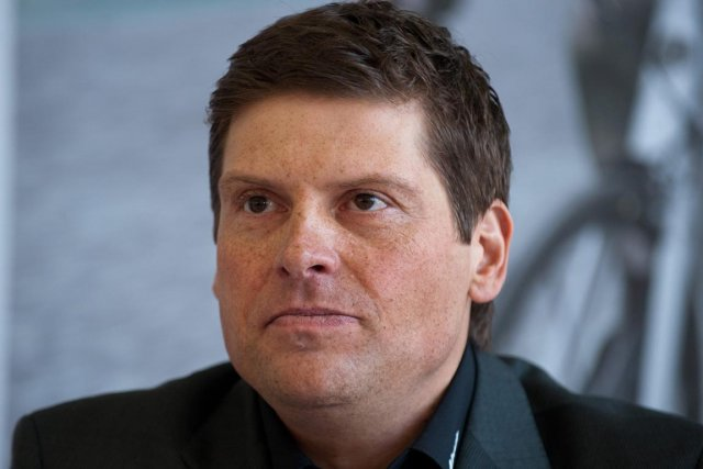 Jan Ullrich en 2012.... (Photo : Patrick Sinkel, AP)