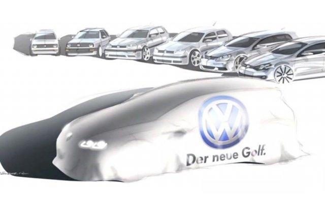 La Golf de septième génération sera dévoilée officiellement... (Image YouTube)