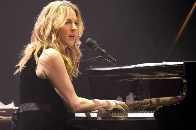 Diana Krall... (Photo: Hugo-Sébastien Aubert, archives La Presse)