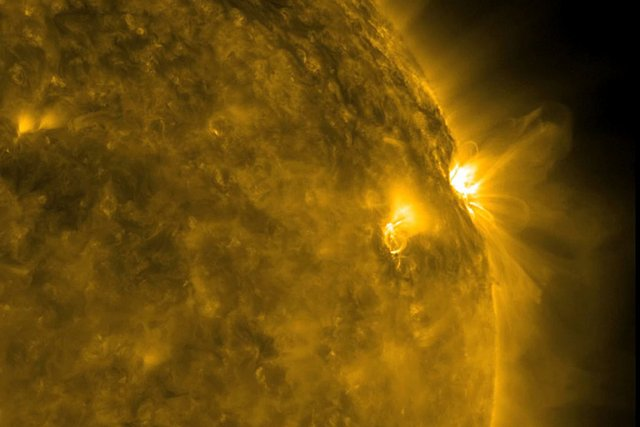 Une photo du soleil.... (Photo: archives NASA)