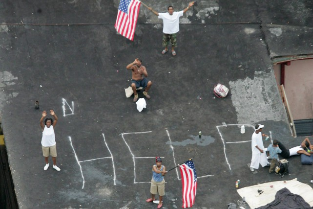 Les 29 et 30 août 2005, l'ouragan Katrina, l'un... (PHOTO DAVID J. PHILLIP, ARCHIVES AP)