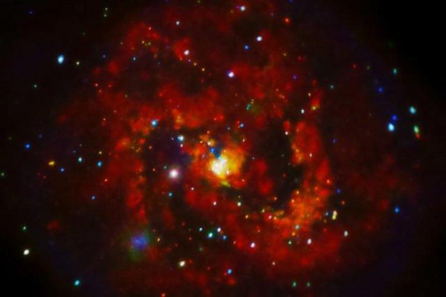 Des astronomes de San Diego, en Californie, ont annoncé mardi avoir observé... (Photo: AFP)