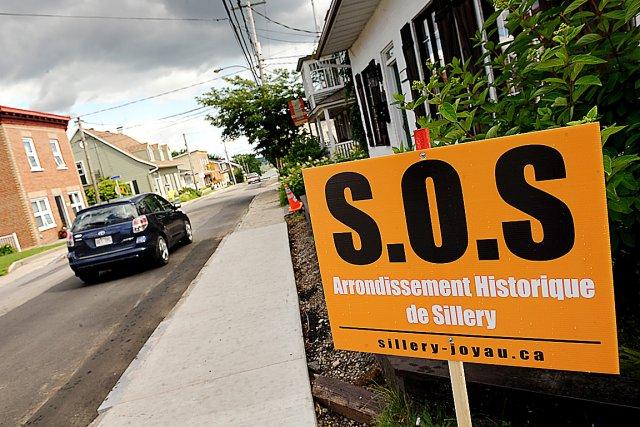 La Coalition pour l'arrondissement historique de Sillery voudrait... (Photothèque Le Soleil, Patrice Laroche)