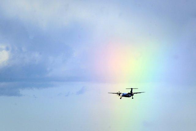 Un aller-retour Montréal-Paris, soit 11 000 km de vol, coûte parfois  moins... (Photo: Bernard Brault, La Presse)