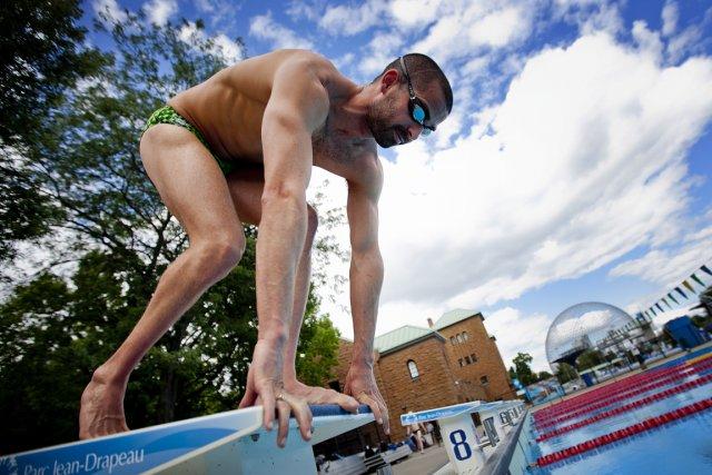 Benoît Huot compte pas moins de 16 médailles... (Photo: Marco Campanozzi, La Presse)
