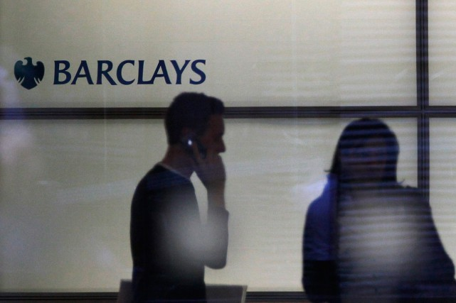 La banque britanniqueBarclays paiera 227 millions de dollars... (PHOTO ANDREW WINNING, REUTERS)