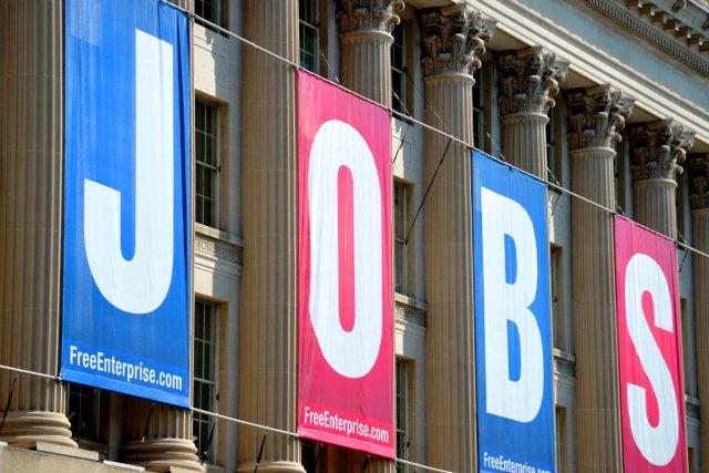 Le nombre de nouveaux chômeurs esttombé à son... (PHOTO ARCHIVES AFP)