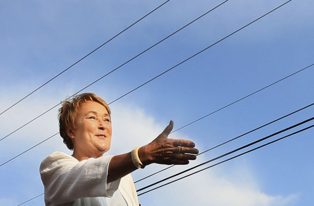 La chef du Parti québécois, Pauline Marois.... (Photo: Reuters)