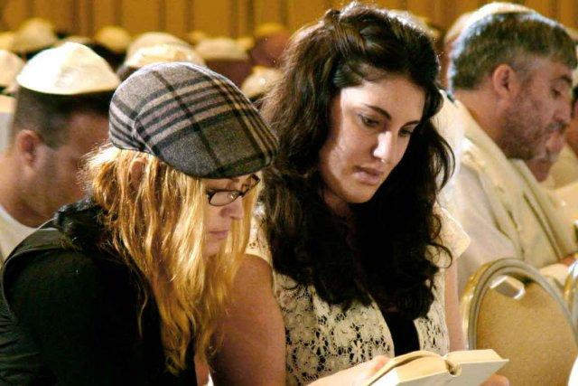 Madonna lors d'une conférence sur la kabbale à... (Photothèque Le Soleil)