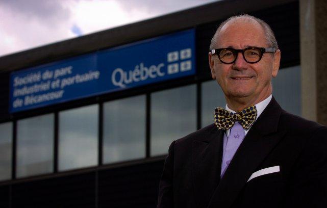 Le président-directeur général de la Société du parc... (Photo: FranÇois Gervais)