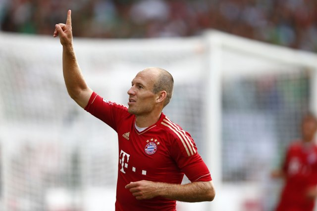 Arjen Robben... (Photo : Kai Pfaffenbach, archives Reuters)