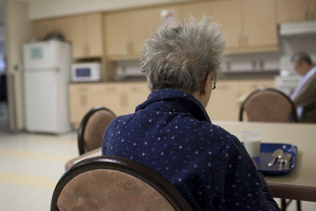 Plus de la moitié des pensionnaires des maisons... (Photo Olivier Pontbriand, archives La Presse)