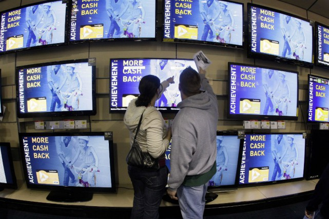 Un groupe représentant des producteurs de contenu de télévision a choisi la... (PHOTO ARCHIVES LA PRESSE CANADIENNE)
