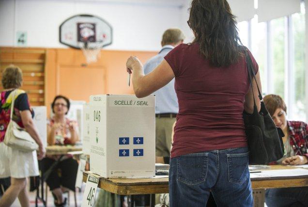 Êtes-vous en faveur d'élections générales à date fixe au Québec ? Si c'est le... (PHOTO ROGERIO BARBOSA, archives AGENCE FRANCE-PRESSE)
