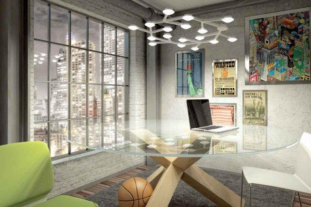 coup d 39 clat dans la salle manger alexandra perron design. Black Bedroom Furniture Sets. Home Design Ideas