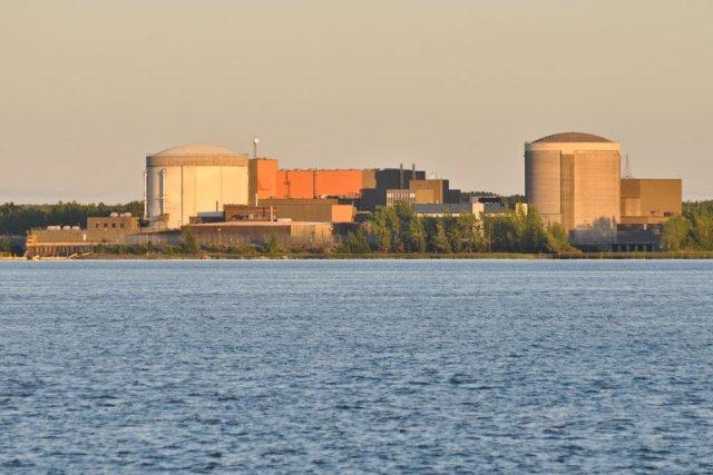 La centrale nucléaire Gentilly-2 se retrouve une fois... (Photo: Émilie O'Connor)