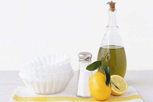 Des produits simples, comme le citron et le...