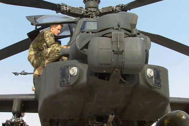 Le prince Harry, surnommé capitaine Wales, est hors... (Photo : AP)