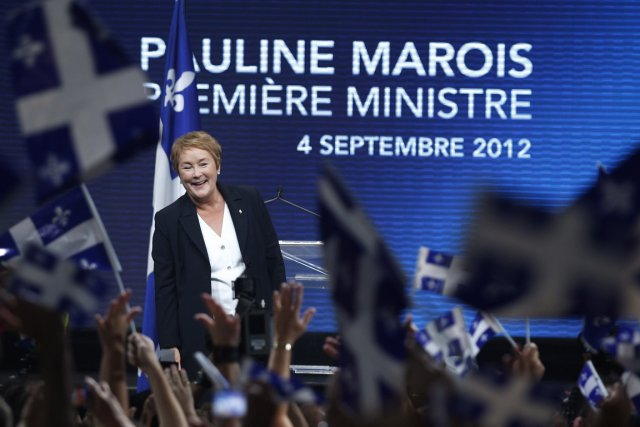 Pauline Marois... (PHOTO CHRISTINNE MUSCHI, REUTERS)