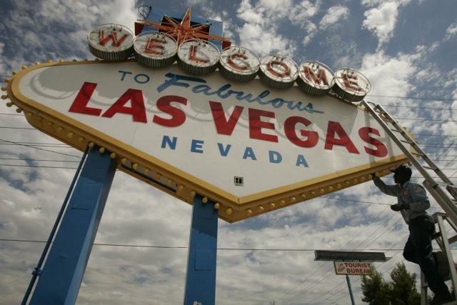Un vol aller-retour sans escale en direction de Las Vegas pour seulement 168$.... (Photo AP)
