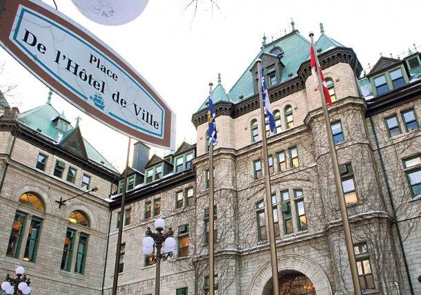 L'hôtel de ville de Québec... (Photothèque Le Soleil, Patrice Laroche)