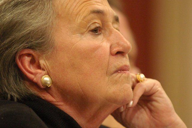 L'ex-lieutenante-gouverneure Lise Thibault... (Photothèque Le Soleil,  Steve Deschênes)