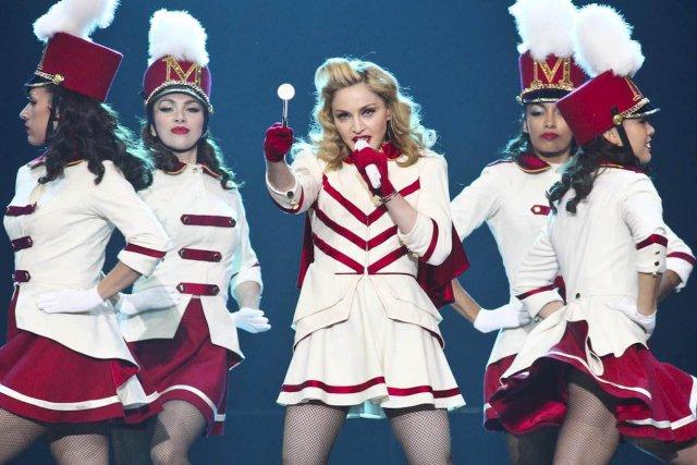 La chanteuse Madonna a invité ses admirateurs à voter pour le «musulman  noir»... (Patrick Woodbury, LeDroit)