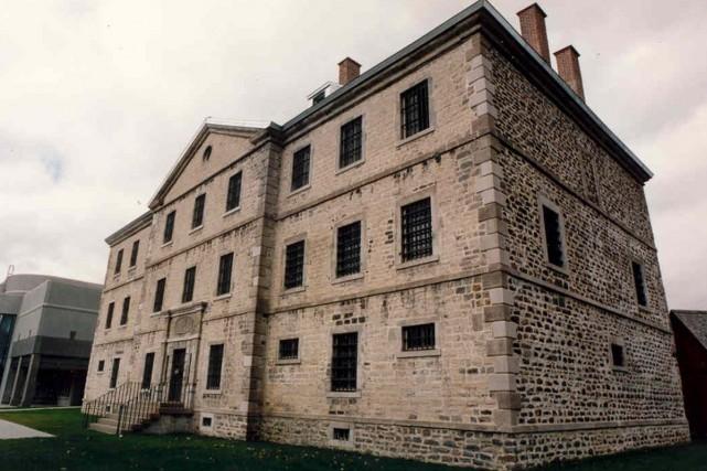La vieille prison de Trois-Rivières.... (Photo fournie par le Musée québécois de la culture populaire)