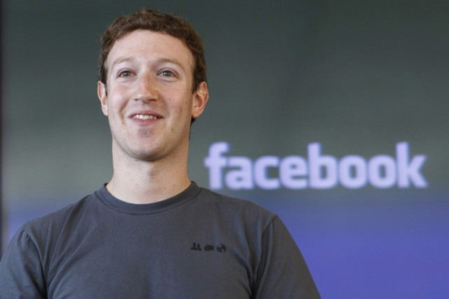 Mark Zuckerberg, fondateur de Facebook.... (PHOTO ARCHIVES ASSOCIATED PRESS)