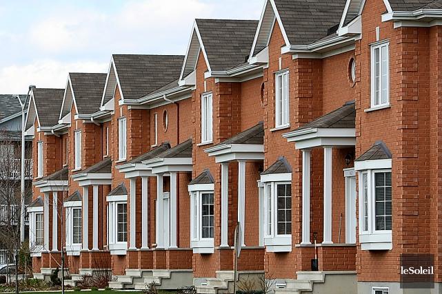 La vigueur du marché immobilier a encore tiré... (Photothèque Le Soleil)