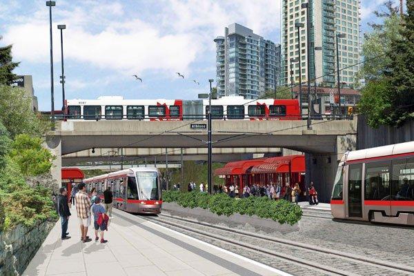 C'est confirmé: le consortium Rideau Transit Group bâtira la première phase du... (Photo courtoisie)