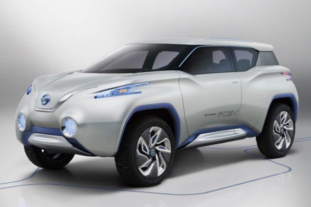 Nissan va dévoiler au Mondial de Paris un concept de VUS 100% électrique. Grâce... (PHOTO FOURNIE PAR NISSAN)