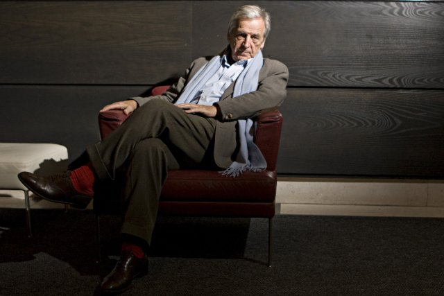 Le cinéaste Constantin Costa Gavras... (Photo François Roy, La Presse)