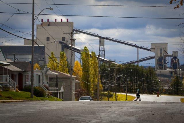La mine Jeffrey, à Asbestos. ... (Photo André Pichette, archives La Presse)