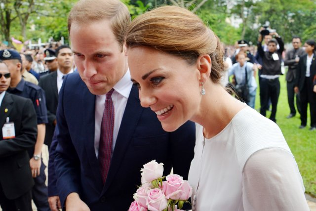 Kate et le prince William effectuent actuellement une... (PHOTO MARGARET MAXWELL, AP)