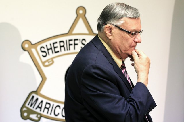 Le shérif «le dur des États-Unis» Joe Arpaio.... (PHOTO ROSS D. FRANKLIN, ARCHIVES AP)