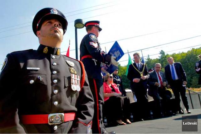 M. Czapnik a été poignardé devant l'Hôpital d'Ottawa.... (Etienne Ranger, LeDroit)