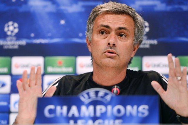 L'entraîneur du Real Madrid, Jose Mourinho.... (Photo: AFP)