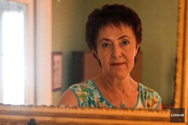 La Gatinoise Nicole Dubé, mère de Lara Langlais,... (Patrick Woodbury, archives LeDroit)