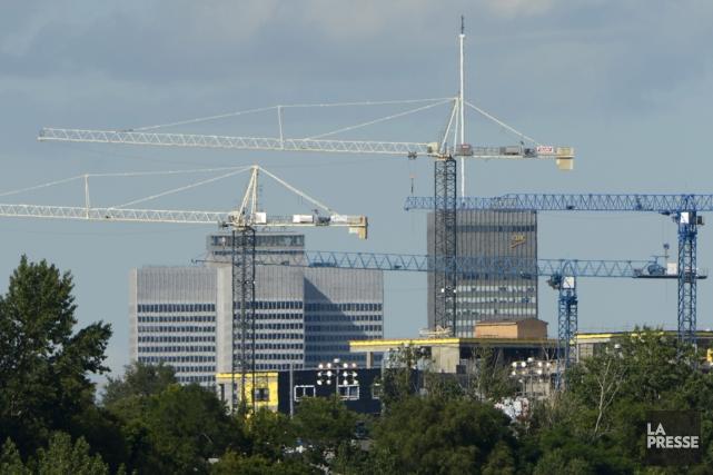 On ne peut pas enquêter sur les malversations dans le milieu de la construction... (Photo Bernard Brault, La Presse)