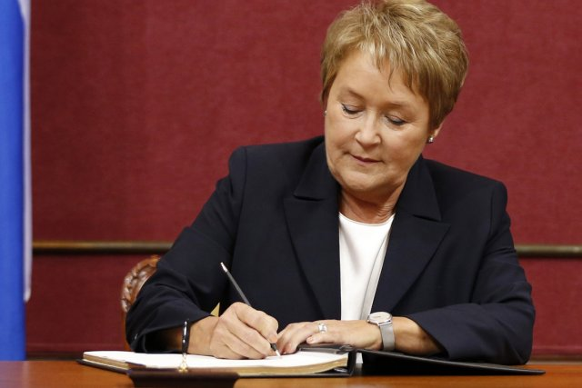Pauline Marois... (Photo Reuters)