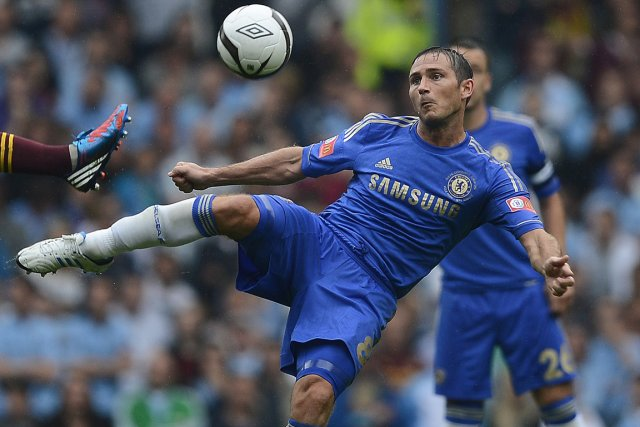 Frank Lampard, de Chelsea.... (Photo: Reuters)
