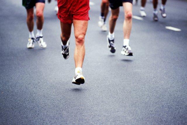 À quelques jours du marathon de Montréal, les coureurs, fébriles, mettent la... (Photo: Photothèque La Presse)