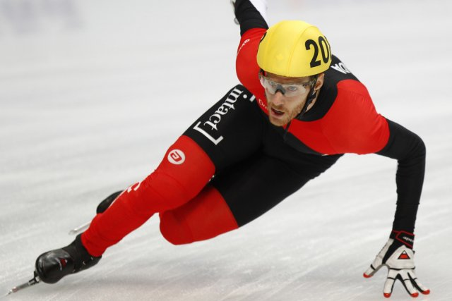 Le patineur de vitesse Olivier Jean savait qu'il... (Photo: Reuters)