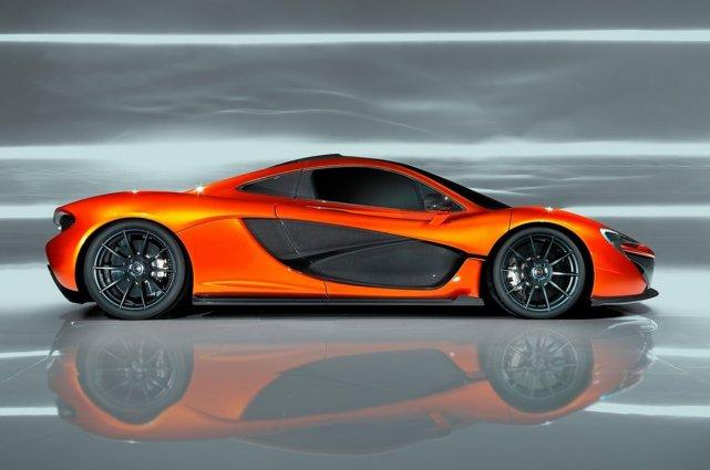 La McLaren P1.... (Photo fournie par McLaren Automotive)